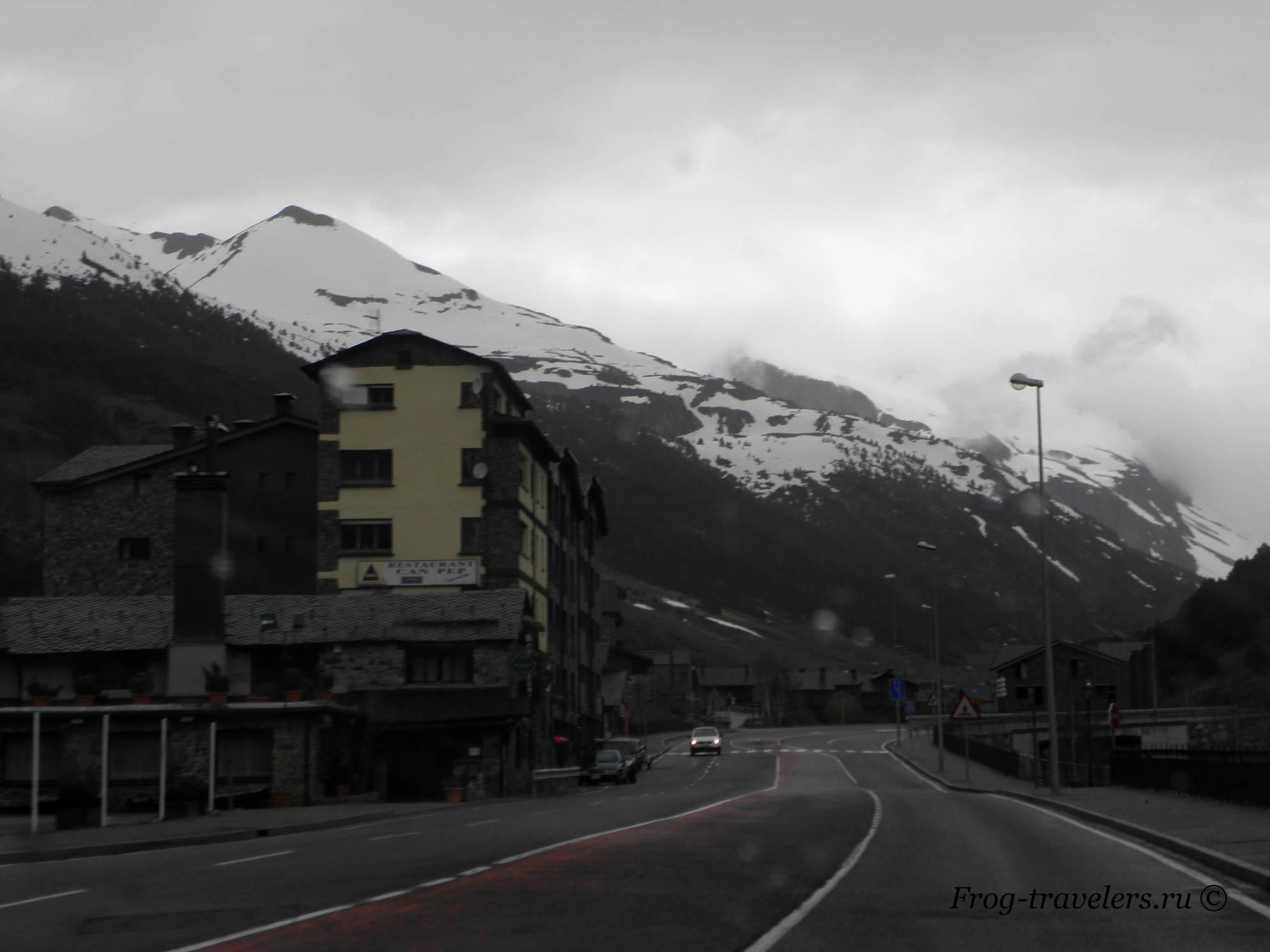 Андорра. Пиренейские горы