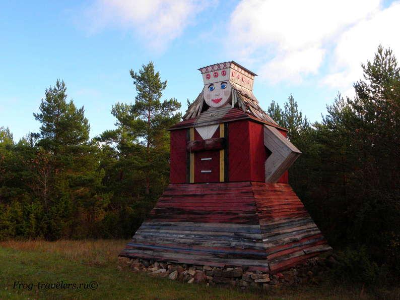 Мельницы острова Сааремаа: Пирет