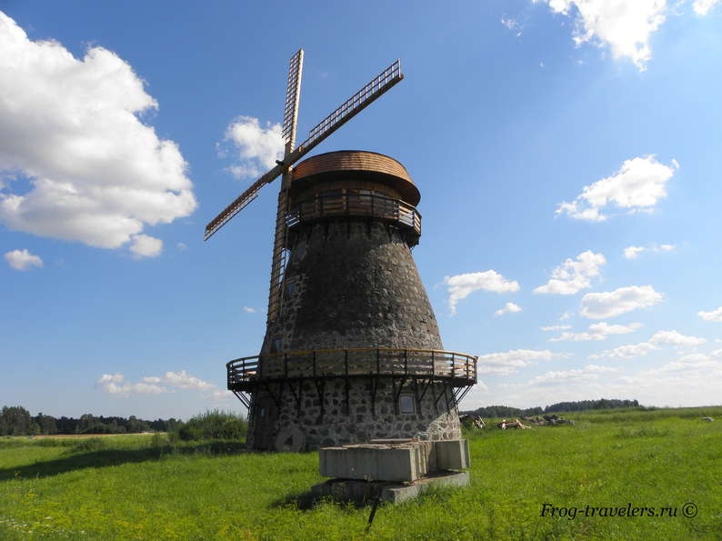 Ветряные мельницы Эстонии фото