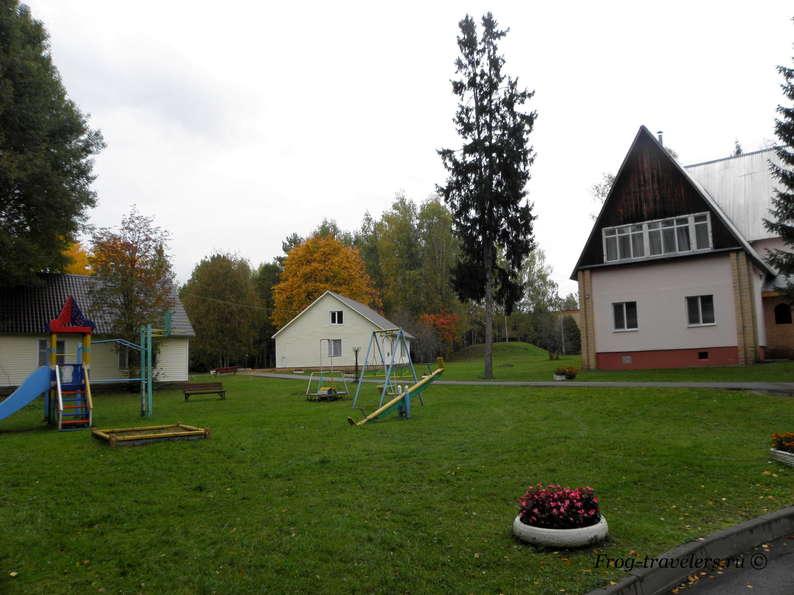 Территория, детские площадки