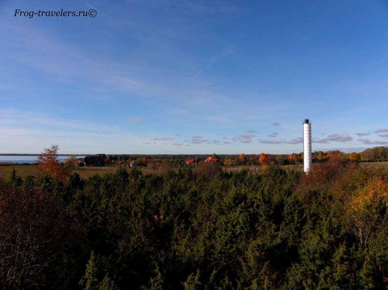 Эстония, остров Хийумаа: маяк Орьяку верхний фото