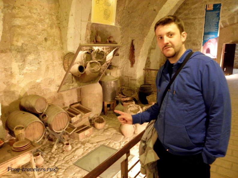 Подвал в Монастыре де ла Пьедра