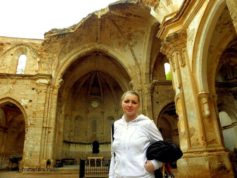 Марина Саморосенко в Монастыре де Пьедра