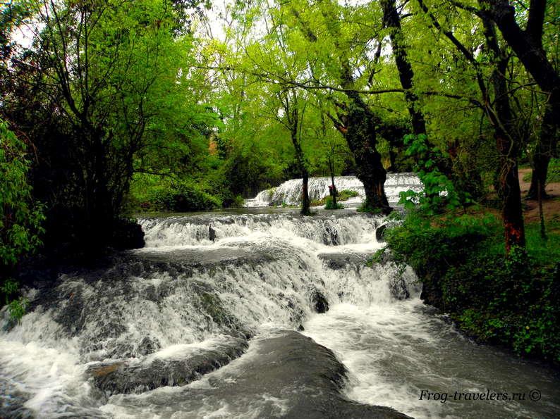 Реки и пороги Испания