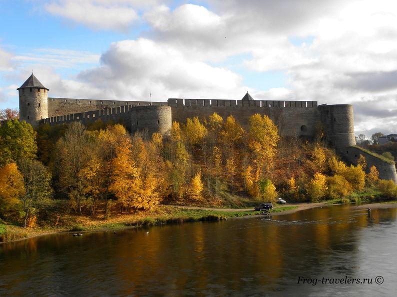 Ивангородская крепость в Ивангороде