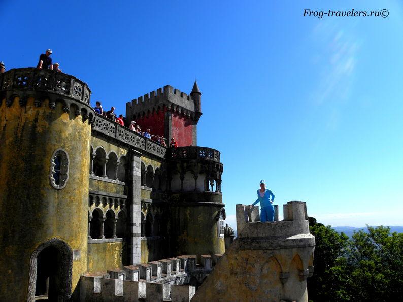 Португалия. Синтра. Дворец Пена
