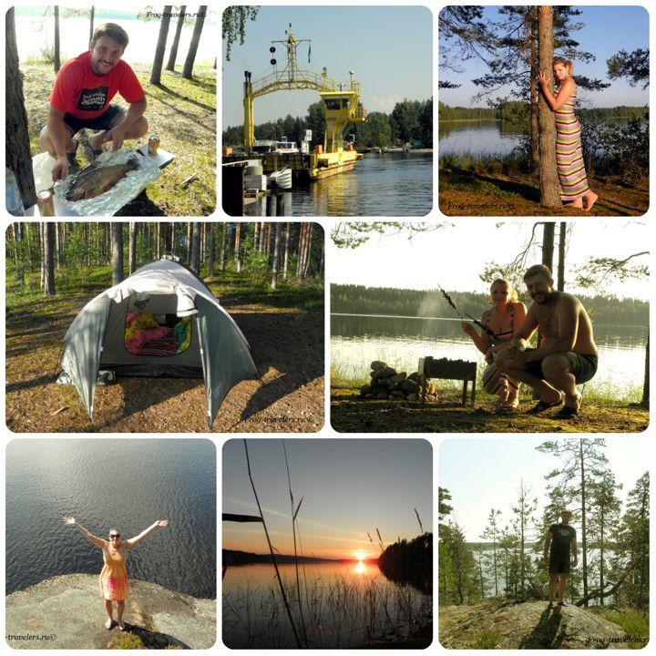 Отдых с палаткой Финляндия