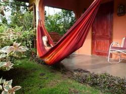 Мила в Панаме. И в гамаке, без панамы :)