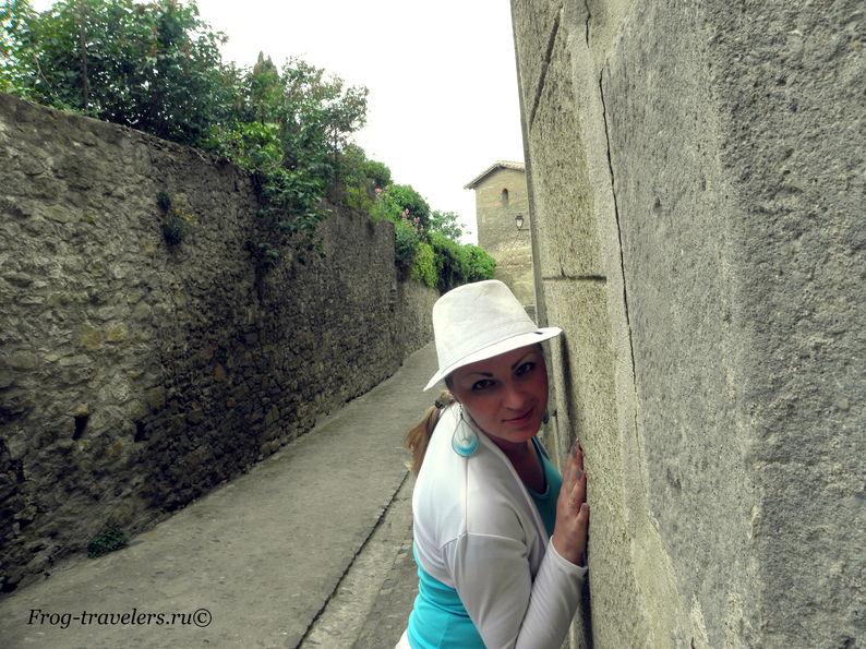 Франция. Город-крепость Каркассон (Каркасон). Средневековый замок в Лангедоке. Верхний город Сите