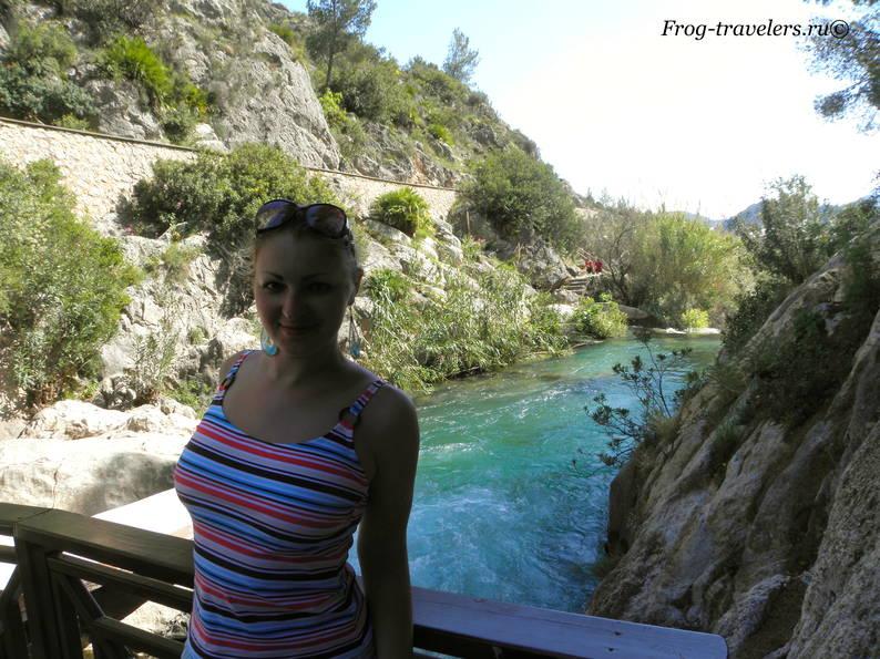 Водопады Альгара в Аликанте как добраться