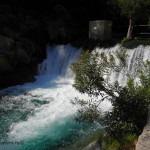Водопады и источники реки Альгара в Испании Аликате