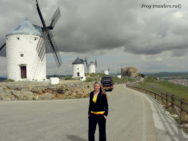 Ветряные мельницы Дон-Кихот Ла-Манчский фото