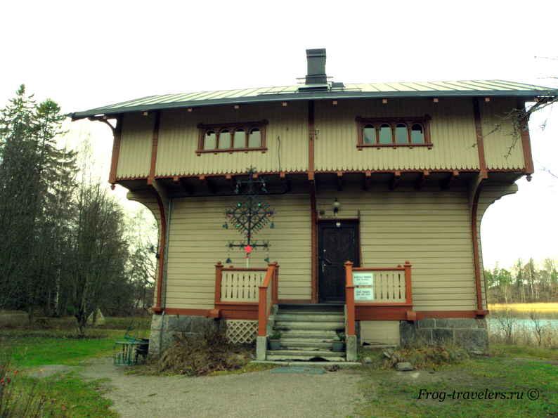 Остров Сеурасаари Хельсинки Финляндия фото