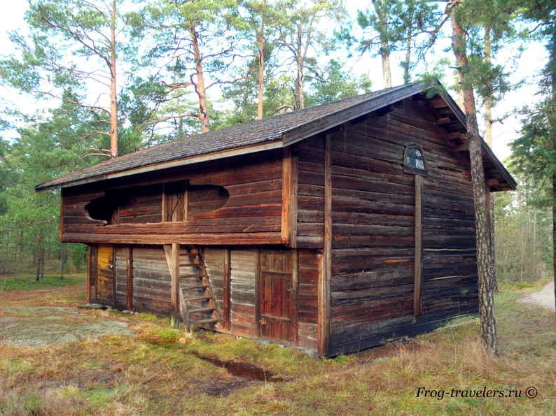 Остров Сеурасаари – музей под открытым небом в Хельсинки фото