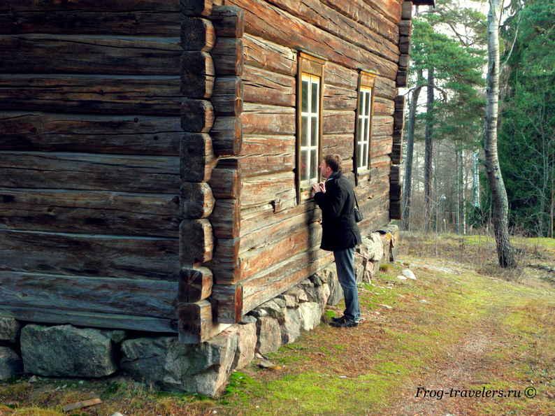 Музей остров Сеурасаари в Хельсинки Финляндия