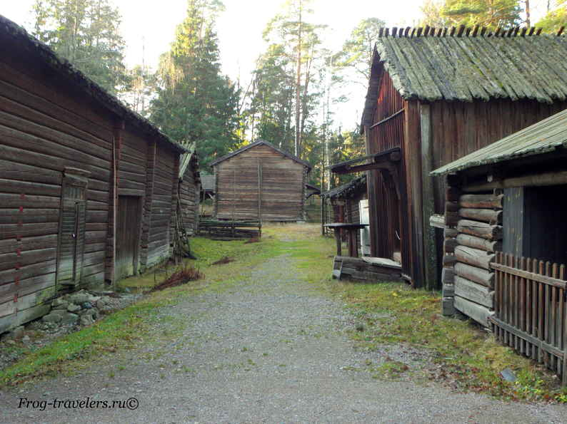 Финская деревня фото