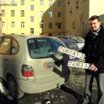 Санкт-Петербург. Украли белорусские государственные номера в машине - что делать (фото+видео)?