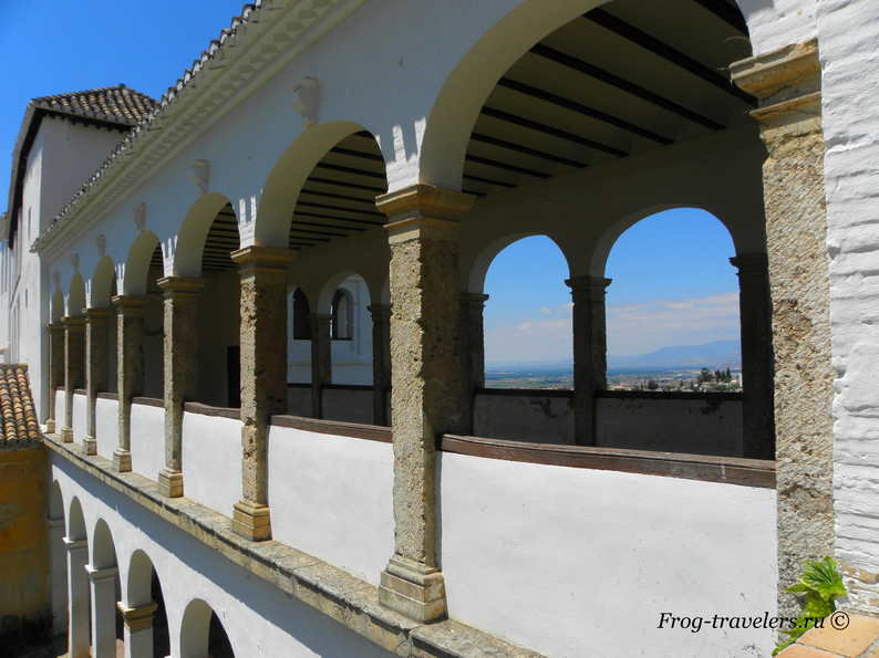 Сады Хенералифе Альгамбра Гранада Андалуссия Испания фото