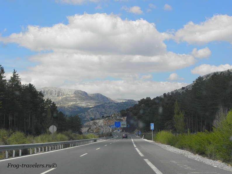 Идеальные испанские дороги фото