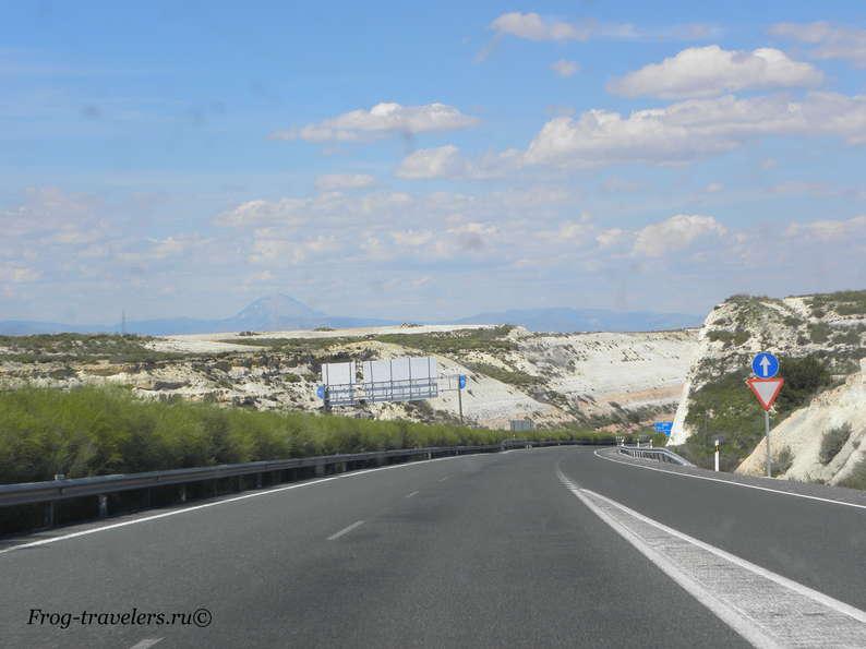 По Испании на авто