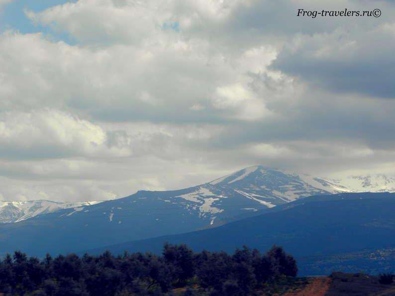 Горы Андалуссии фото