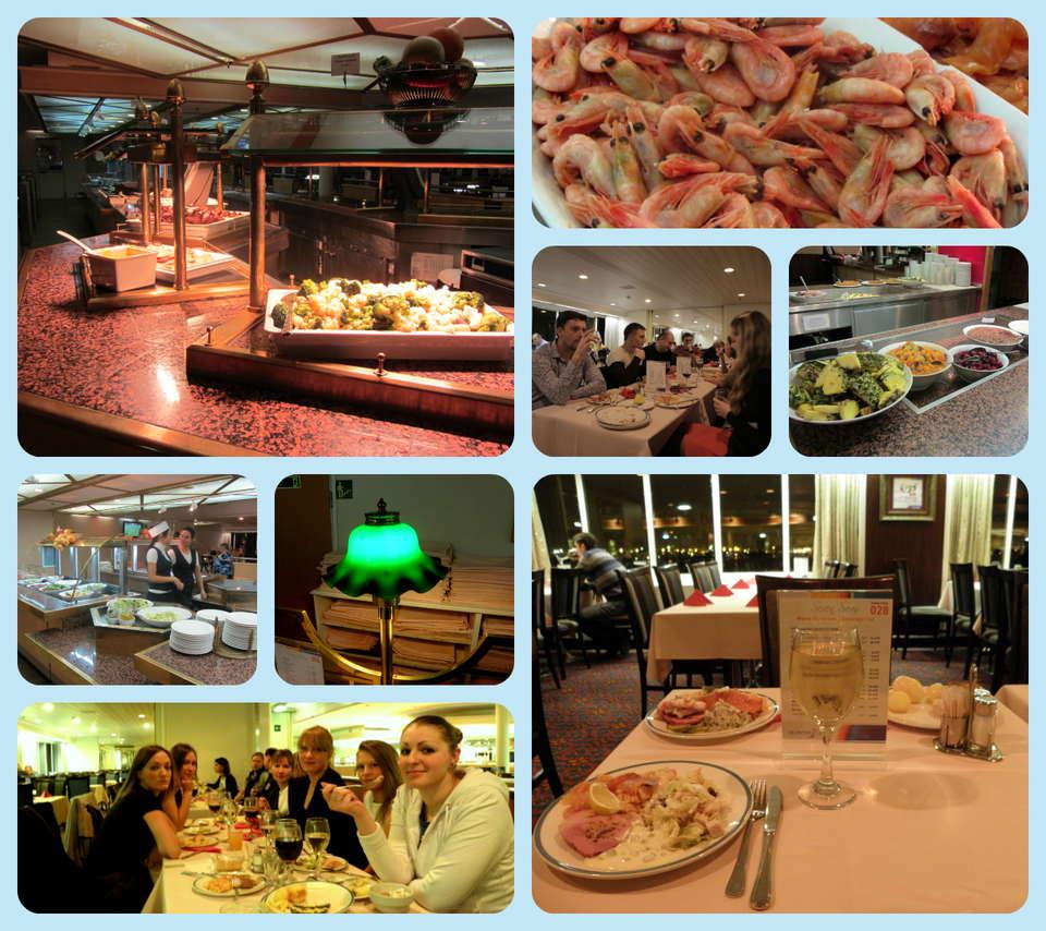 Ресторан на пароме Принцесса Анастасия: наши отзывы