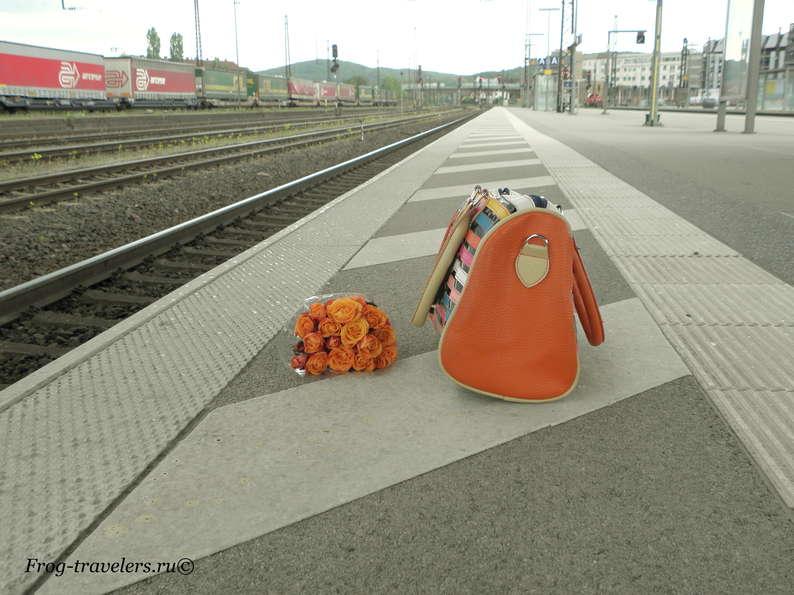 Бавария Ашаффенбург вокзал