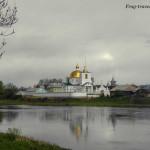 Цепные мосты и другие достопримечательности города Острова Псковской области Фото