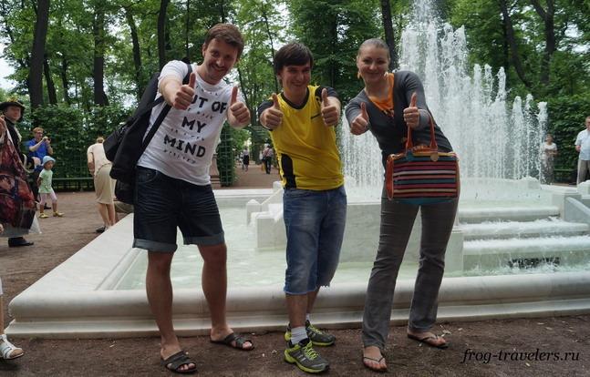 Владимир Друганов, Константин и Марина Саморосенко