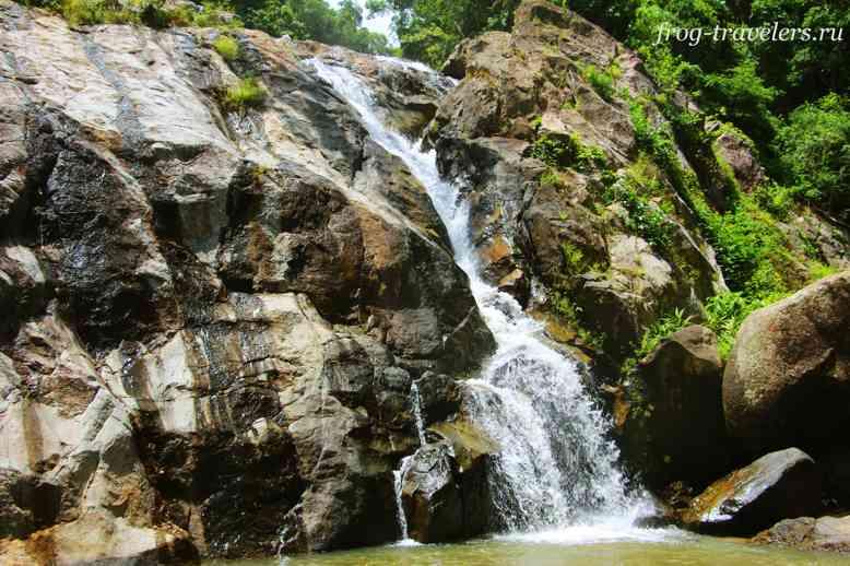 Самуи водопады
