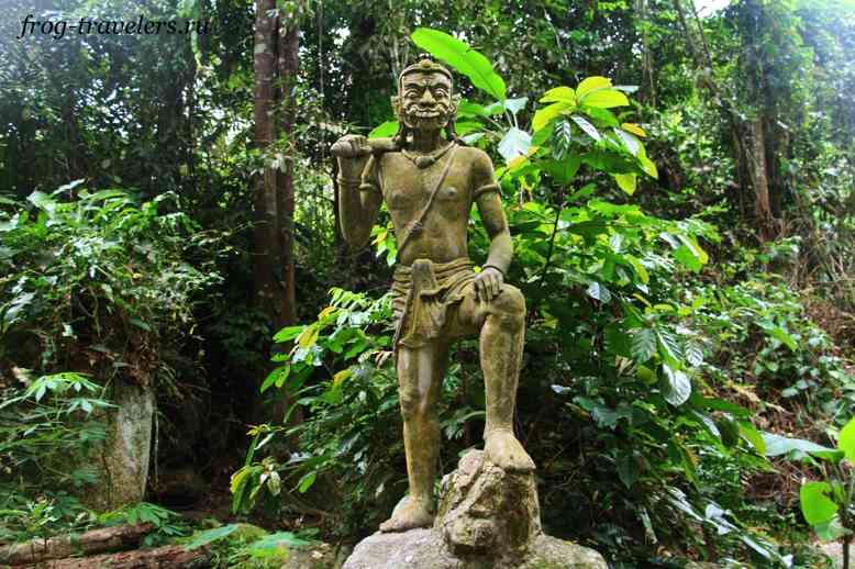 Демон в саду Будды на Самуи