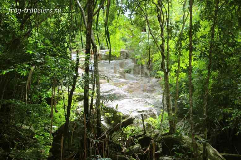Затеряный водопад