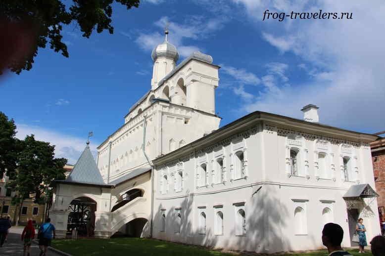 Софийская Звонница в детинце Великого Новгорода