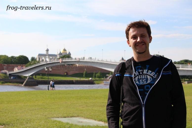 Константин Саморосенко в Великом Новгороде