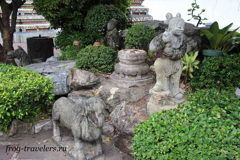 Скульптуры в Тайланде