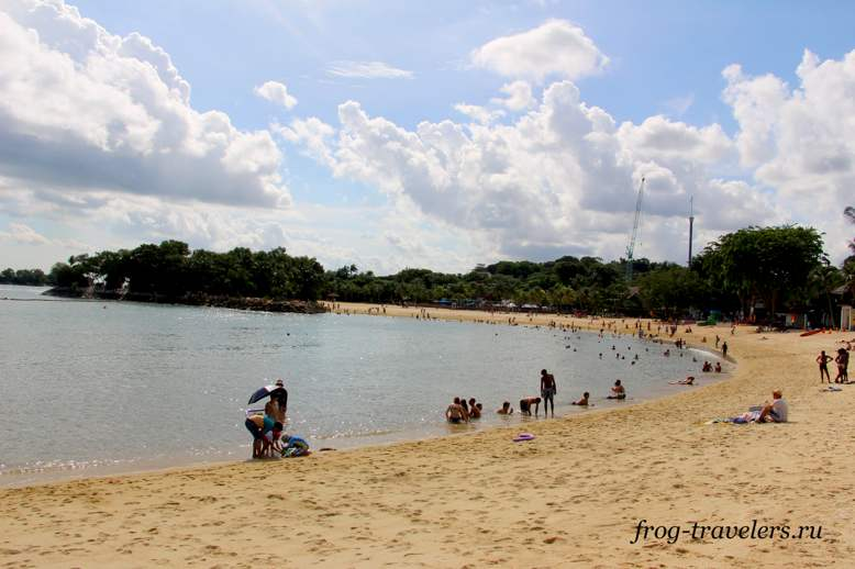 Пляжи Сентозы: Palawan Beach