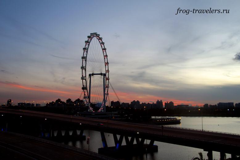 Колесо Фортуны в Сингапуре