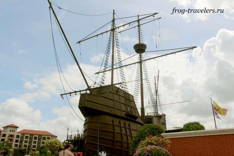Корабль Флора де Ла Маар