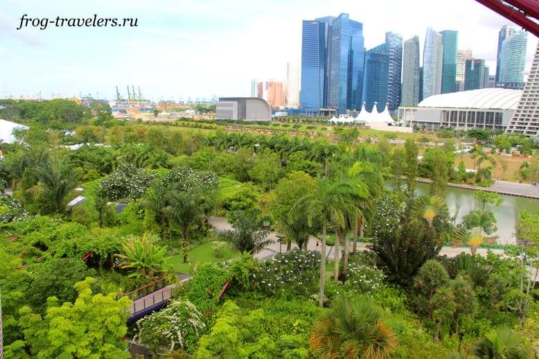 Небоскребы Сингапура