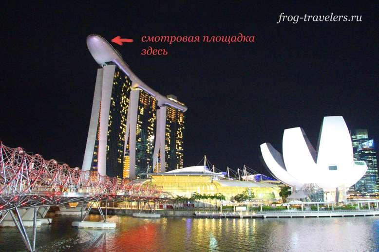 Отель-корабль Marina Bay Sands