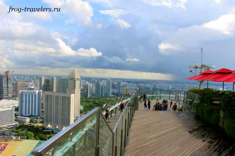 Сингапур с высоты