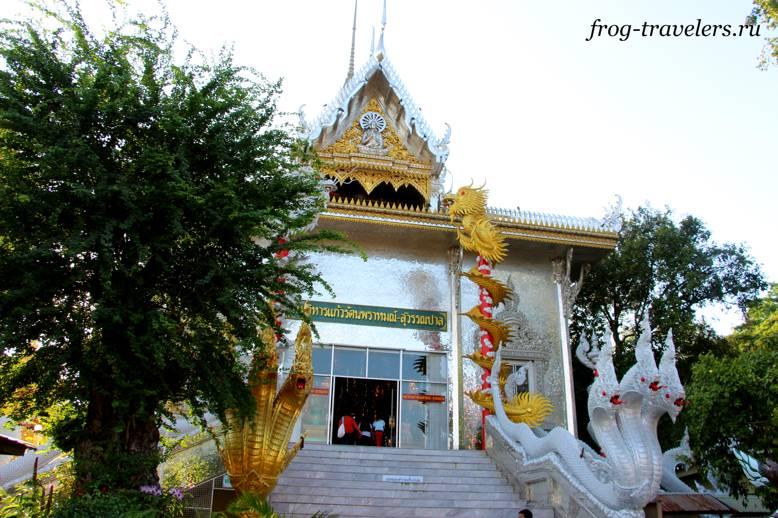 Храм серебристого цвета