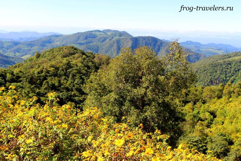 Пейзажи северного Таиланда