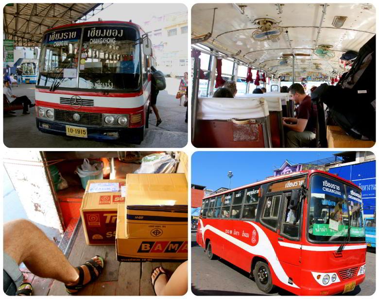 Автобус Чианг Рай - Чианг Хонг