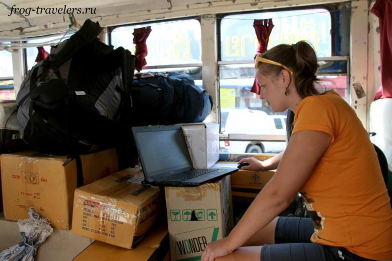 Из Тайланда в Лаос на автобусе