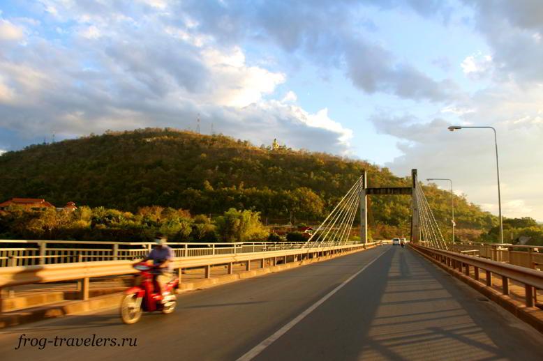 Мост Дружбы Паксе Лаос