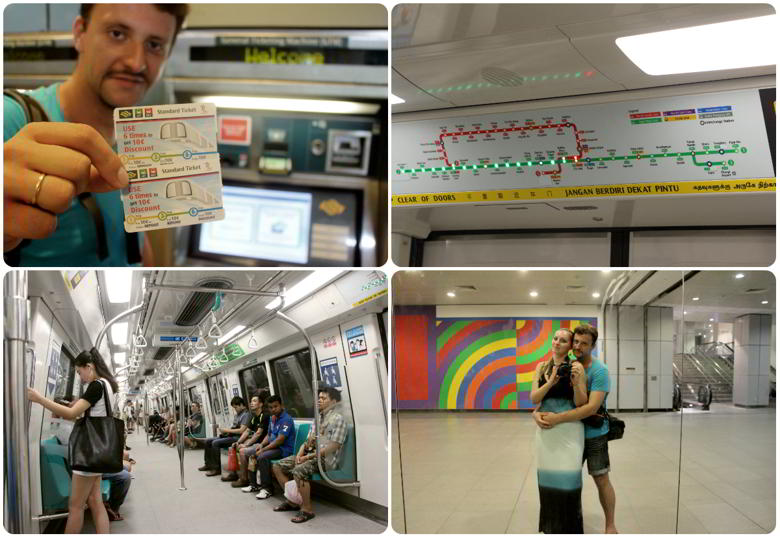 Сколько стоит транспорт Сингапур?
