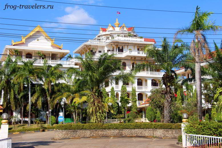 Гостиница Champasak Palace Hotel