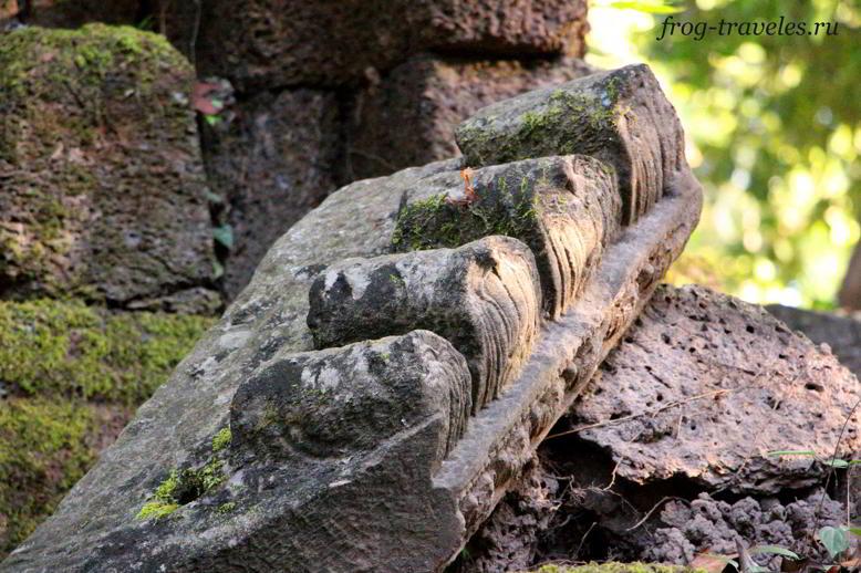 Руины в Лаосе