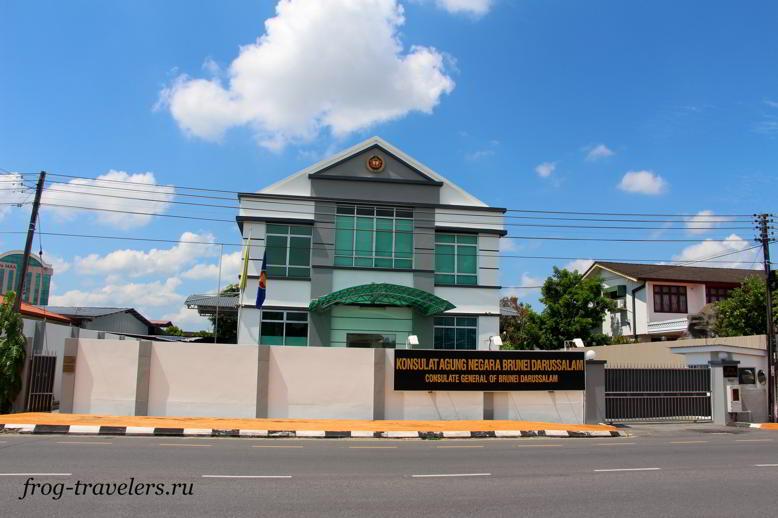 Посольство Брунея в Кучинге, Малайзия